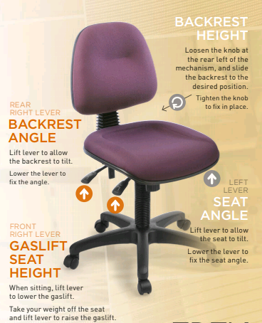 Ergonomic Chair Adjustment Hewsons